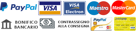 Accepted Payment Methods on Apulian Food Line